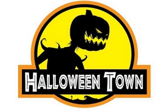 A logomarca do evento bota ainda mais medo nos visitantes
