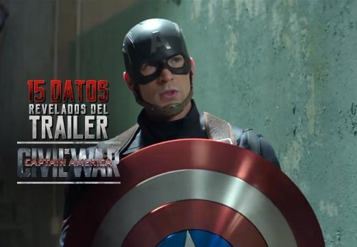 15 datos revelados del trailer 2 de Captain America: Civil War ... - com.mx