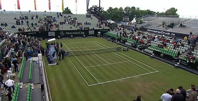Cancha principal del ATP 250 de Stuttgart, Alemania