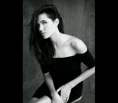 A beleza e sensualidade da atriz com 15 anos.