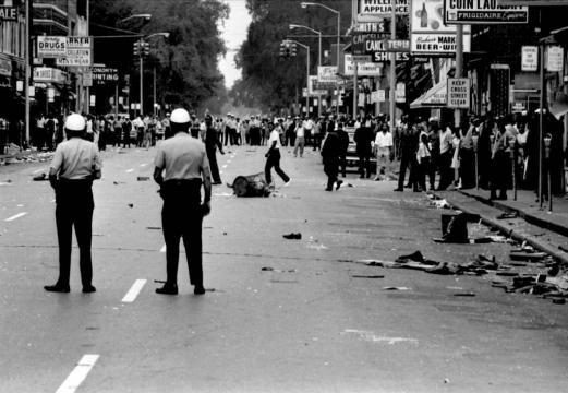 Les émeutes de Detroit , été 1967