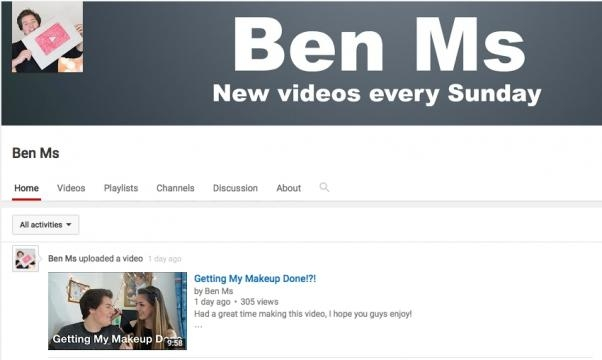 The home of rising star Ben MS on youtube.com