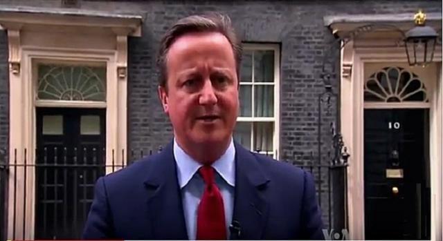 David Cameron anuncia a May como lider de los tories GlC