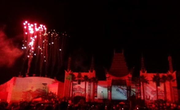 Disney's Hollywood Studios features a nightly Star Wars show. (Photo by Barb Nefer)