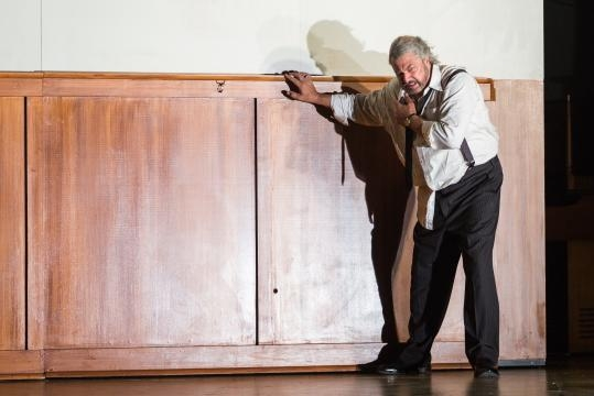 Peter Volpe as the creepy Judge Turpin, who wants to marry his very young ward, Johanna. Photo: Karli Cadel, courtesy of The Glimmerglass Festival.
