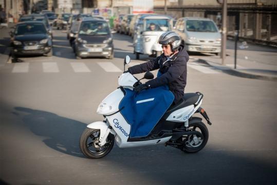 City Scoot, le scooter électrique à Paris en devenir