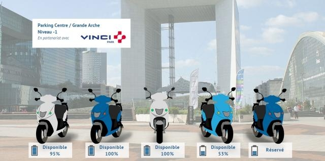 Cityscoot, le premier scooter électrique à Paris