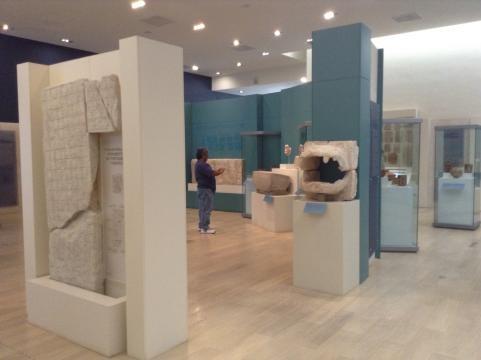 Planta alta del Museo Maya de la Ciudad de Cancún