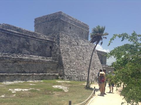 Sitio arqueológico de Tulum en Quintana Roo