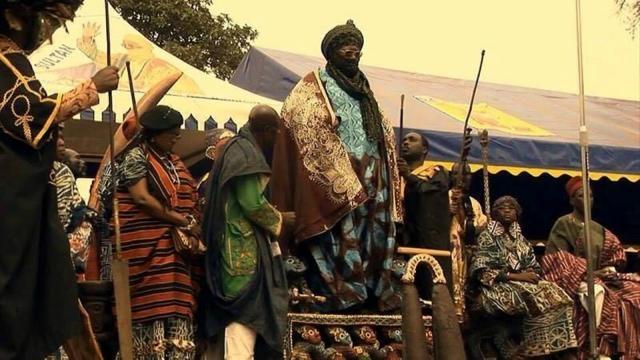 Le sultan Bamoun de la décénnie Njoya