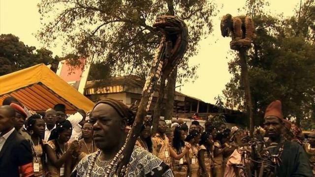 Les participans du Festival Nguon