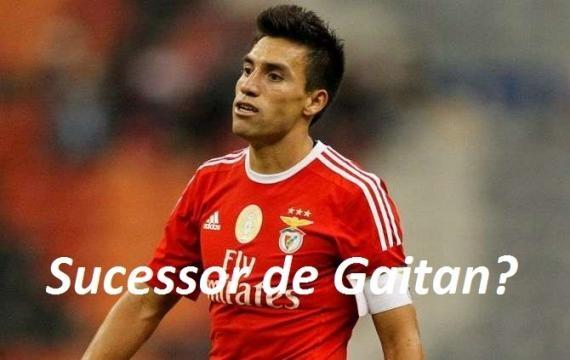 Nico Gaitán quando ainda era jogador do Benfica