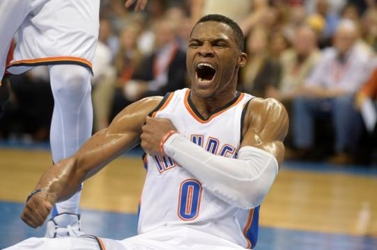 Russell Westbrook is now the only superstar in OKC - friendlybounce.com
