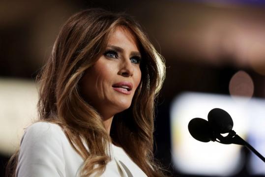 Discorso Melania come quello Michelle Obama - webdigital.hu