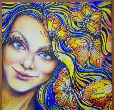 Hada Aglaia, simbolo de inteligencia, intuición y creatividad.