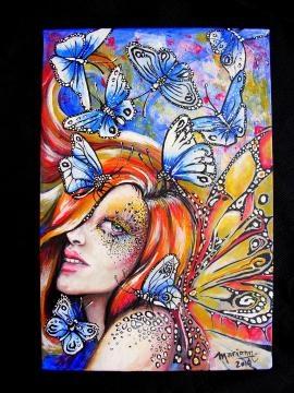Las mariposas son algunos de los elementos clave en la serie 'EncantHADAS'