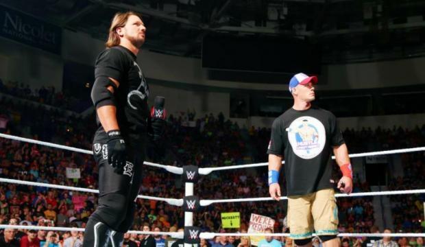 WWE News: Future AJ Styles Vs John Cena Match Going To Be For ... - inquisitr.com