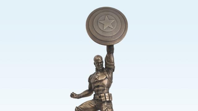 CAPTAIN AMERICA Statue Unveiled at Comic-Con | Nerdist - nerdist.com