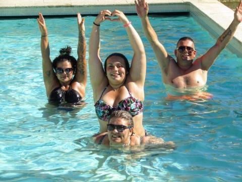 Fanny Rodrigues mostra a sua família feliz