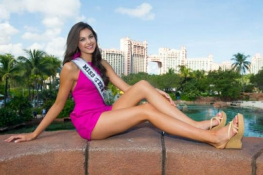 Miss Teen USA 2015 Katherine Haik poses in Bermuda. (c) Miss Universe Organization. Used by permission.
