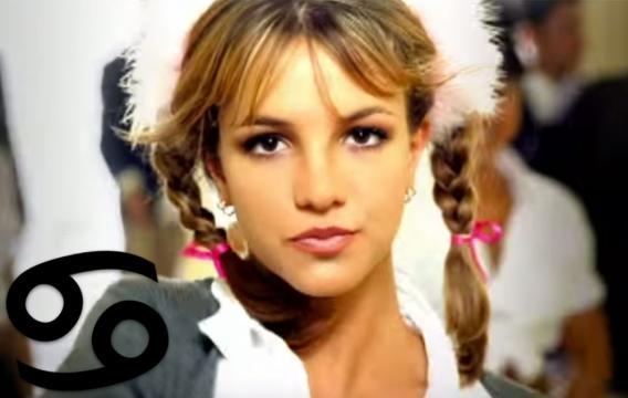 Britney Spears all'epoca del suo debutto