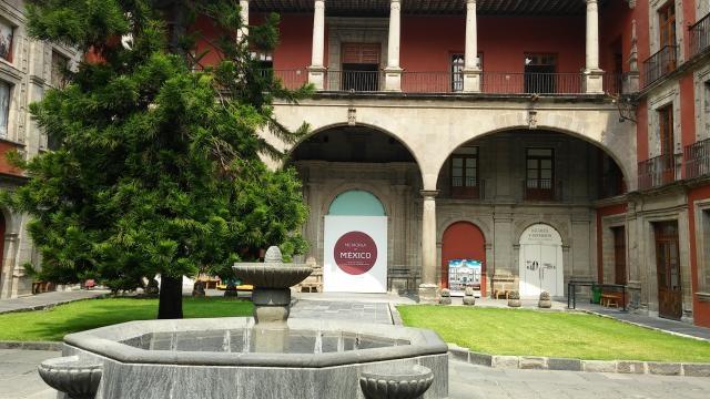 Patio interior del recinto histórico del Siglo XVI