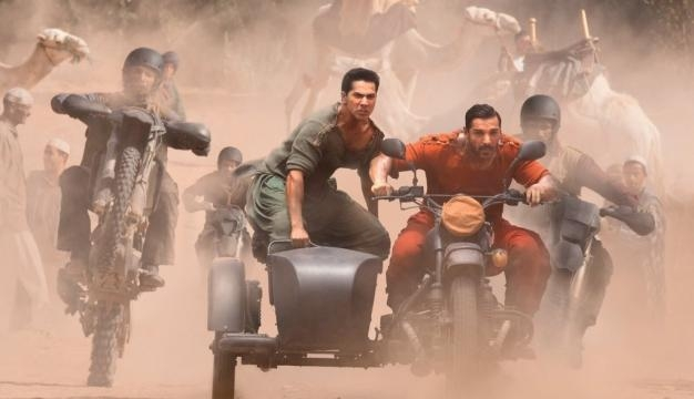 Dishoom', First Look of John Abraham & Varun Dhawan from the Film - boxofficecollection.in