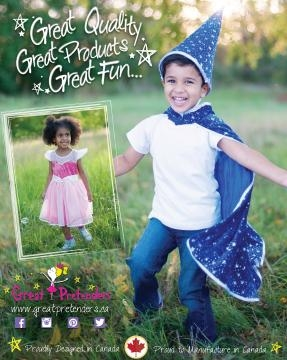 Great Pretenders also requires Dee to design costumes that are suitable for boys. / Photo via Dianne Stitzel, Great Pretenders. Used with permission.