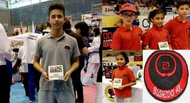 Equipa de competição da Bushido AK Esposende