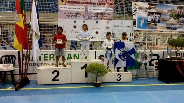 Laurinha Santos em segundo lugar