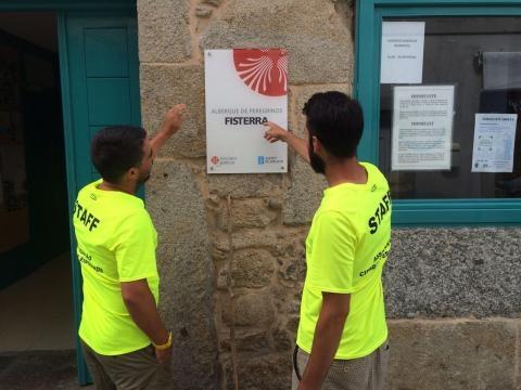 Em Finisterra, num dos locais mais emblemáticos para os peregrinos