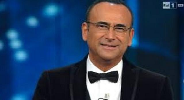 Un'immagine di Carlo Conti, conduttore di Tale e Quale show
