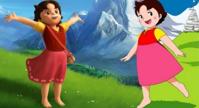 Heidi, remake en 3D y original (usseek.com)