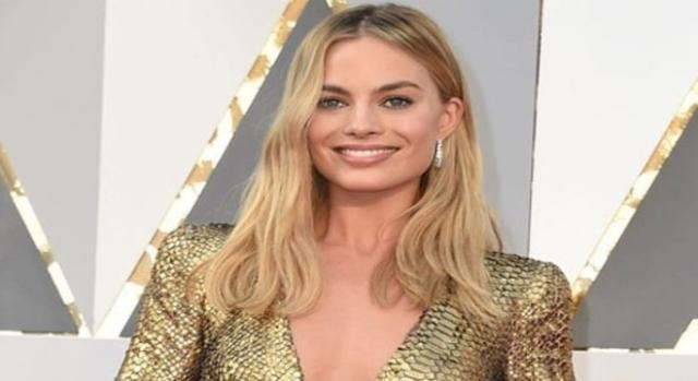 Margot Robbie wanted to look like Harry Potter. (Yahoo Images)