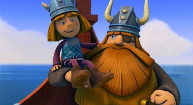 "Vicky el Vikingo, remake en 3D. (Foto de ""Studio 100"")"