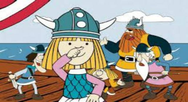 Vicky el Vikingo, serie original (cronicanorte.es)