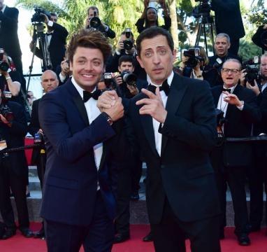Les deux amis ont monté les marches ensemble à Cannes.