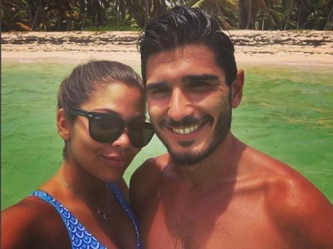 Filipe e Hully estão em Punta Cana