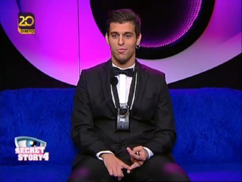 Tiago participou no reality show