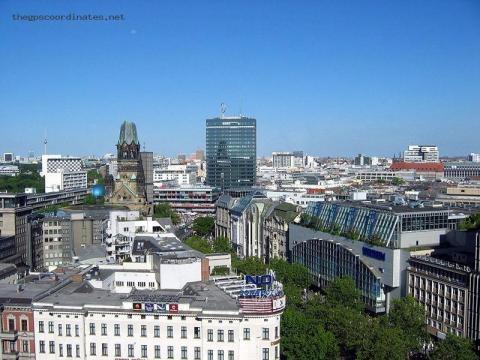 latitude and longitude GPS coordinates of Berlin (Germany, Europe) - thegpscoordinates.net