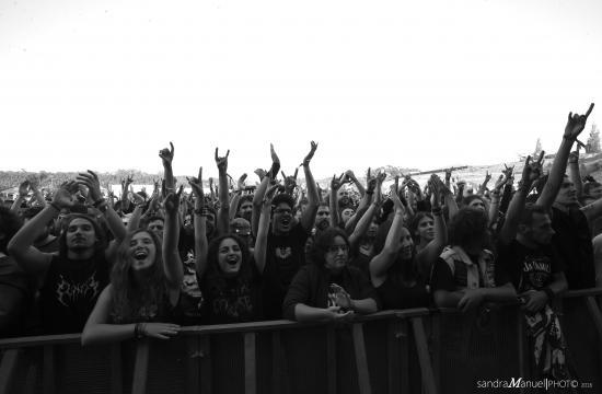 Público no Vagos Metal Fest 2016 - 1ºdia