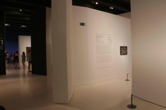 Seis secciones dan contexto a la ambición de la primera colección en Norte América