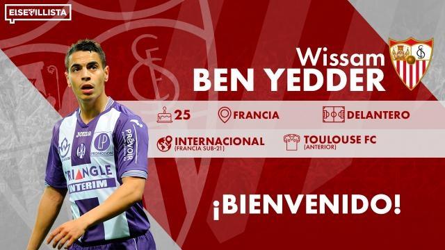 La sensación de la Ligue 1, Wissam Ben Yedder ficha por el Sevilla para sustituir a Kevin Gameiro