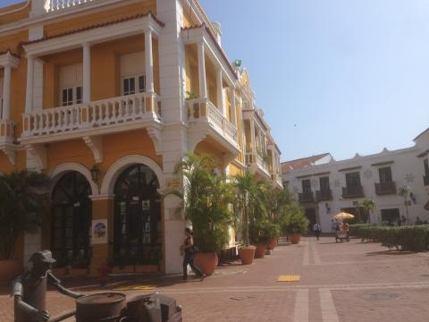 Cartagena Colombia, the Colombian Caribbean's largest colonial city. Photo by Anny Wooldridge of Anny's Adventures