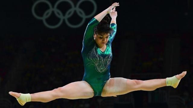 Moreno treinou por 19 anos para competir nas Olimpíadas
