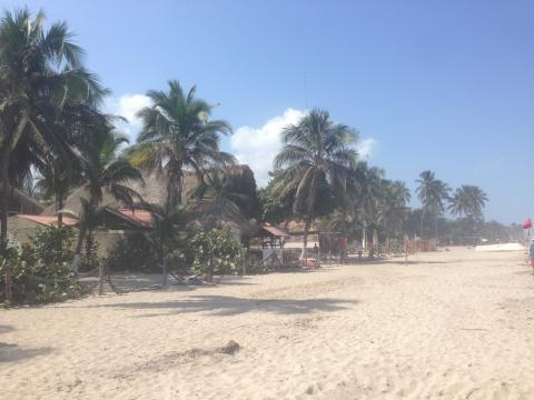 Palomino Colombia, an unspoilt beach on Colombia's Coast. Photo by Anny Wooldridge of Anny's Adventures