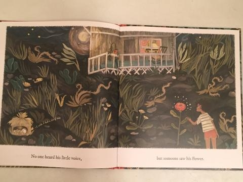 An example of the detailed artwork in the book. / Photo via Meagan Meehan, Blasting News.