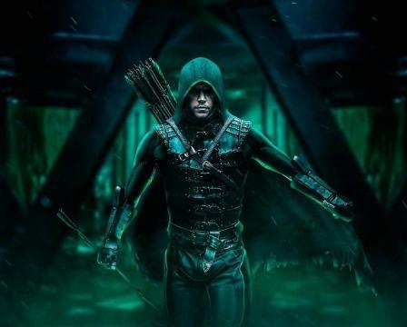 Presentan potente imagen de Matt Damon como 'Green Arrow' para la 'Liga de la Justicia'
