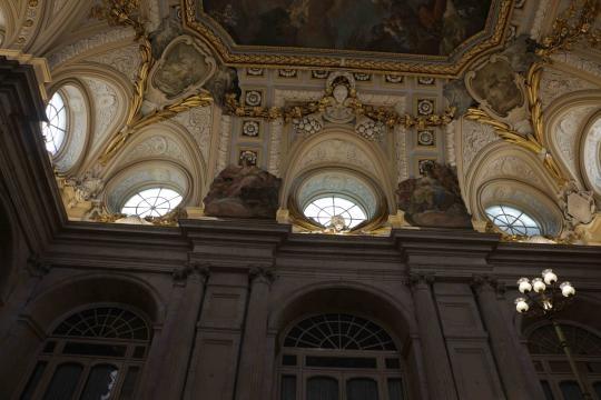 Detalle en la decoración a la francesa