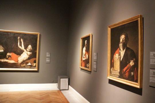 Exposición de los genios pintores italianos/españoles